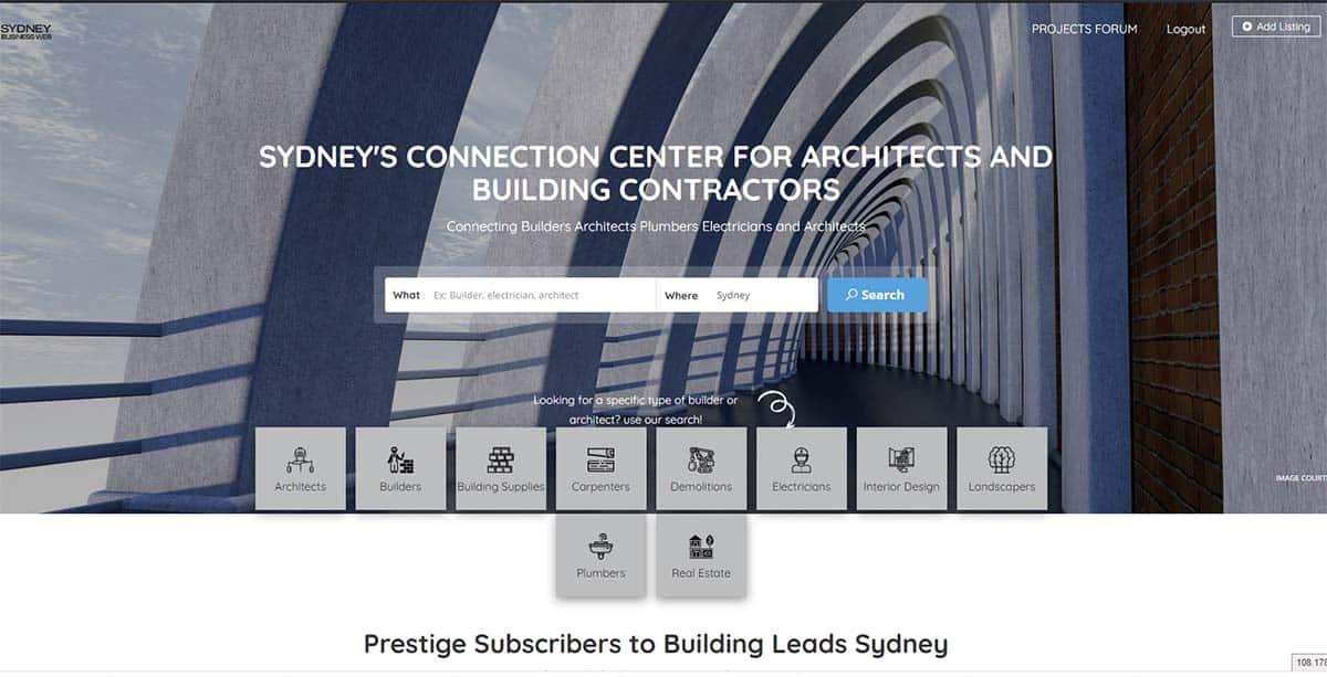 Building Leads Sydney