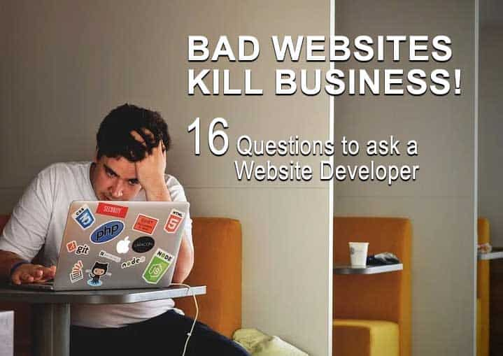 16 Questions to ask a website developer