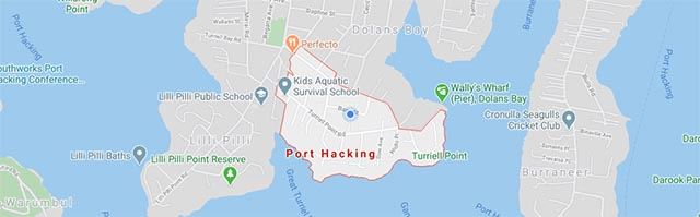business website design port hacking map