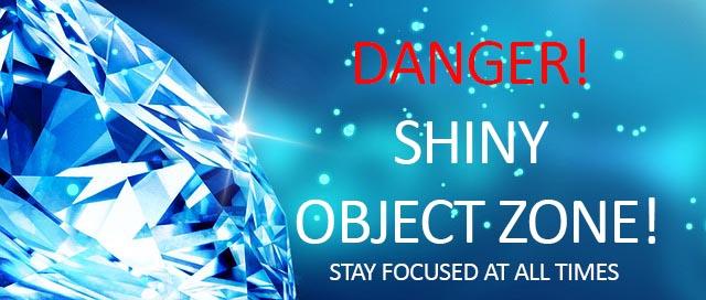 shiny object warning