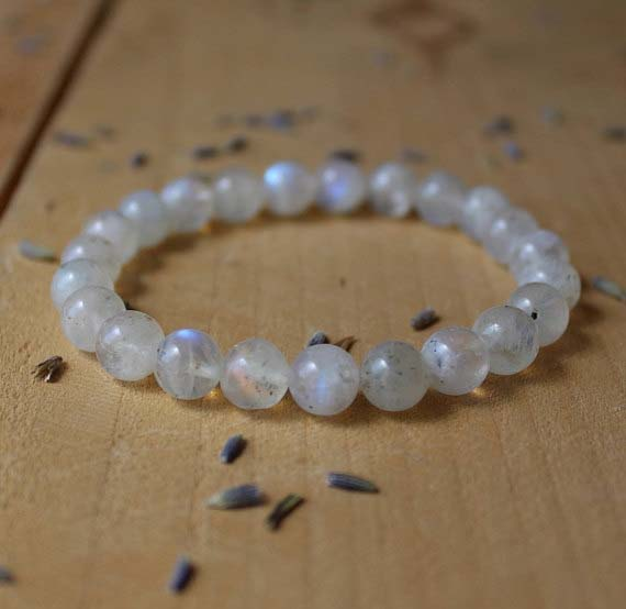 moonstone bracelet on an eCommerce Business Website