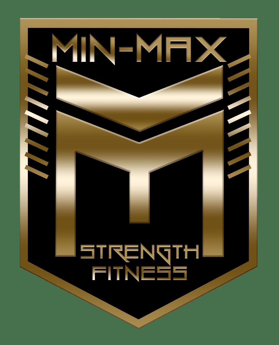 Min Max logo Version GOLD BLACK