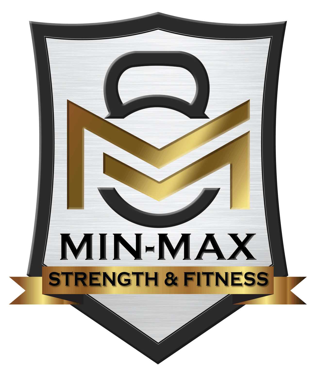 Min max logo silver and black version Copperplate text-1