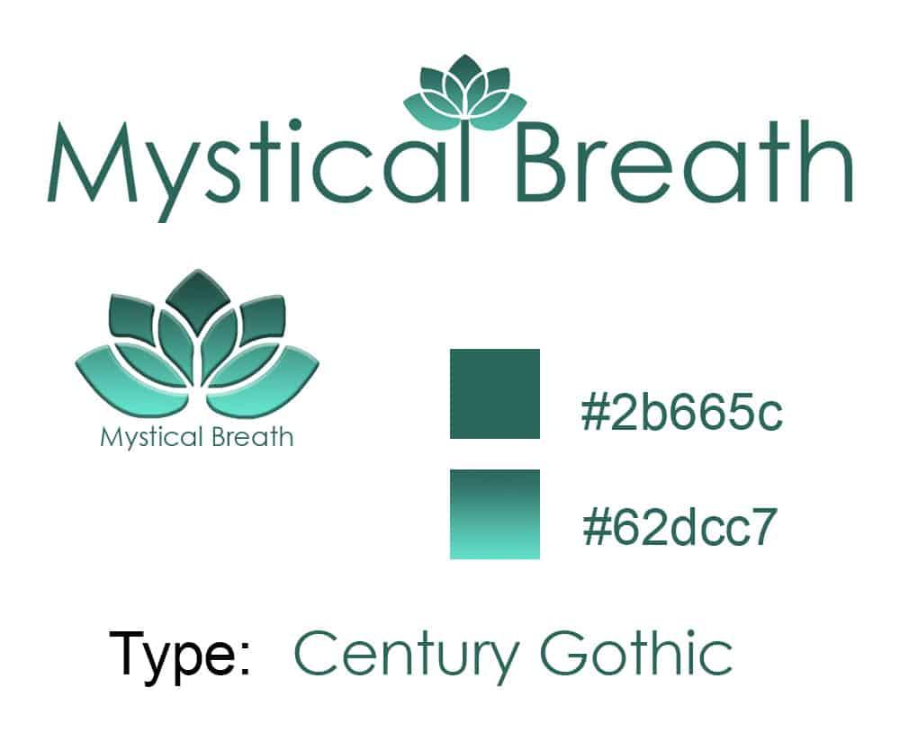 Mystical Breath Business Website Logo info