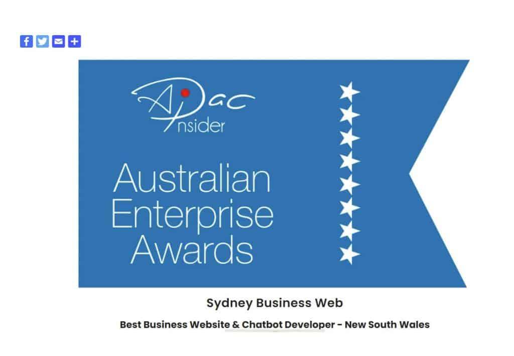 Best Business Website Developer New South Wales 2021