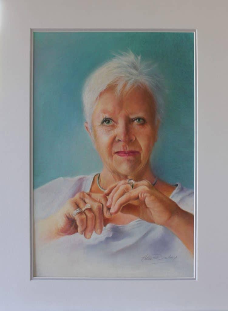 Portrait in Pastels