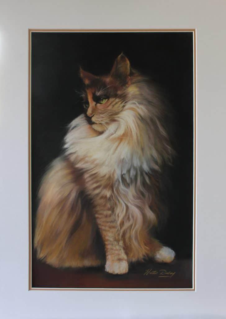 Pet Portrait in Pastels